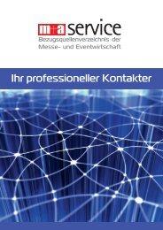 Ihr professioneller Kontakter - m+a Verlag GmbH
