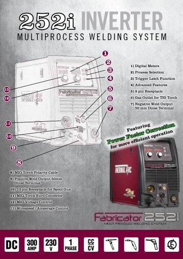 252i Brochure - Victor Technologies - Europe