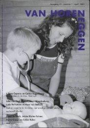 Jaargang 42 . nummer 1 . april 2001 Ine Cuperus en Carien ...