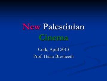 New Palestinian Cinema - cosmos