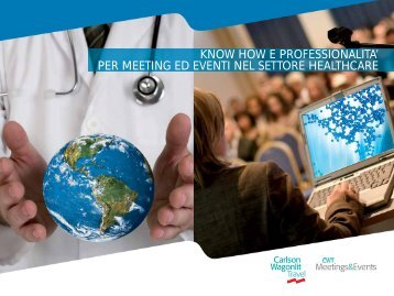 Scarica la brochure CWT Healthcare - Carlson Wagonlit Travel