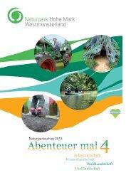 Naturparkschau 2012 ParkLandschaft ... - Naturpark Hohe Mark