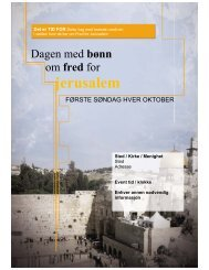 fred - Day of Prayer for the Peace of Jerusalem