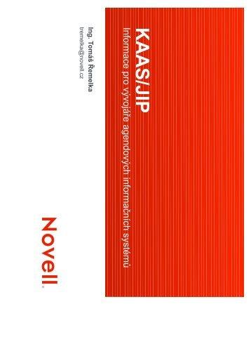 Informace pro vývojáře agendových informačních systémů - Správa ...