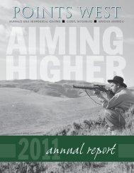 2011 Annual Report - Buffalo Bill Historical Center