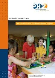 CAS 4-8 Luzern_Studienprogramm_2012-2014