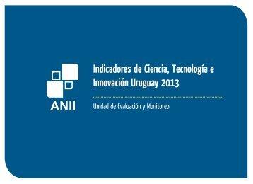 Boletín Indicadores Ciencia y Tecnología - 2013