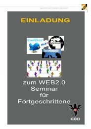 WEB 2.0 für Fortgeschrittene - oeaab.fcg.goed-Blog