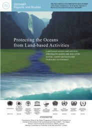 Protecting the Oceans from Land-based Activities - Japan ...