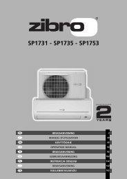 SP1731 - SP1735 - SP1753 - Zibro