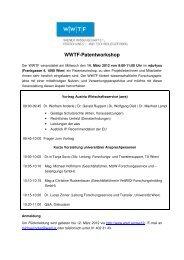 WWTF-Patentworkshop - Wwtf.at
