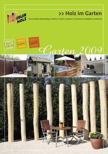 Holz im Garten - Kuebler-Gartenholz