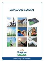 Catalogue FR 10-2011 - Kingspan Unidek