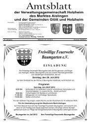 1,00 - Verwaltungsgemeinschaft Holzheim