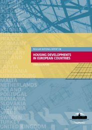 housing developments in european countries - Department of ...