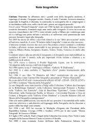Scarica la biografia di Giuliana Traverso - Canson Infinity