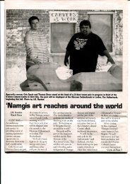 'Namgis art reaches around the world - Museum Volkenkunde