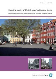 Ensuring quality of life in Europe's cities and towns - New Bridges