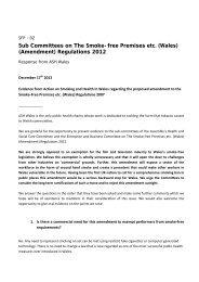 Consultation Response - SFP 2 - ASH Wales PDF 346 KB - Senedd ...