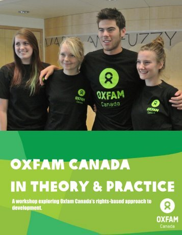 in theory and practice - Oxfam Canada