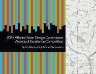 New North Atlanta HS AUDC Submission - Atlanta Public Schools