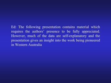Slide presentation - Clydebank Asbestos Group