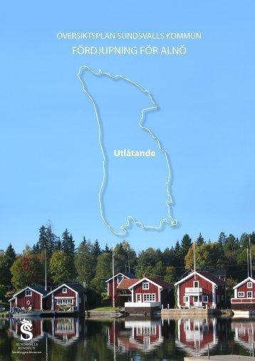 FÖRDJUPNING FÖR ALNÖ - Sundsvall