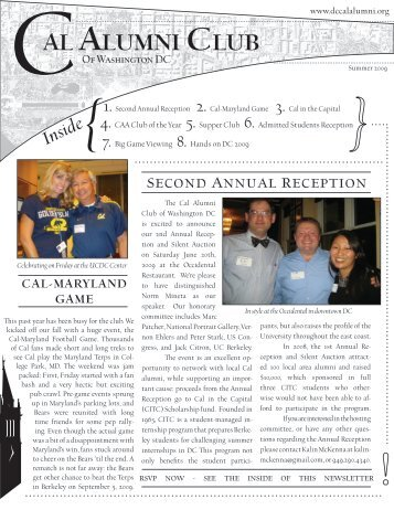 Summer 2009 Newsletter (CalNewsletter_Final.pdf)
