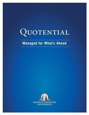 QUoTENTiAL - Franklin Templeton Investments