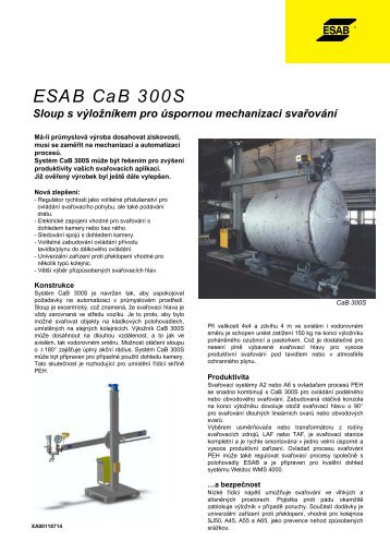 ESAB CaB 300S - Products