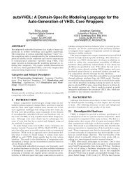 autoVHDL: A Domain-Specific Modeling Language for the Auto ...