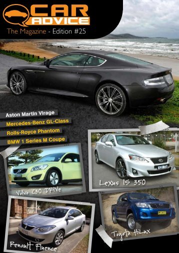To download your free copy of The Magazine - Car Advice