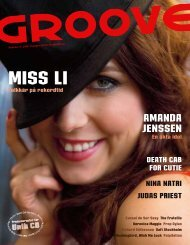 AMANDA JENSSEN - Groove
