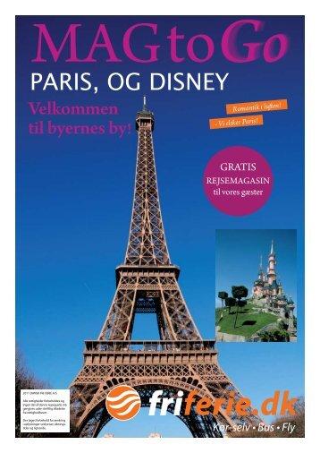 Paris, og disney - Dansk Fri Ferie