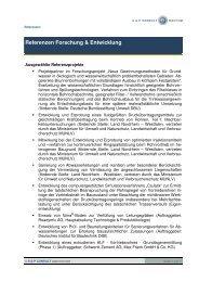Referenzen Forschung & Entwicklung - S & P Consult GmbH