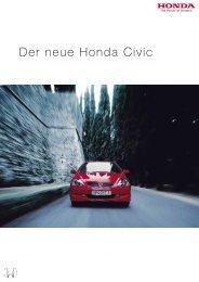 Der neue Honda Civic - Honda Fanzine