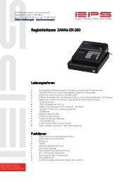 Registrierkasse SAM4s ER-260 - EPS AG (Bern)
