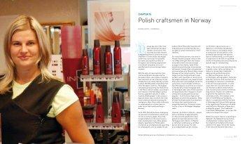Polish craftsmen in Norway - Maihaugen