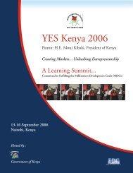 YES Kenya 2006 - Youth Entrepreneurship and Sustainability