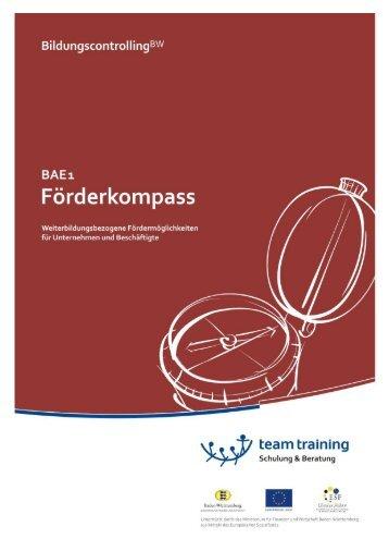 BAE1 - Bildungscontrolling - ttg team training GmbH