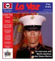 La Voz de Austin November 2009 corrected - La Voz Newspapers