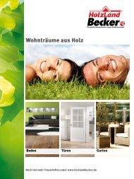 Wohnträume aus Holz - HolzLand Becker