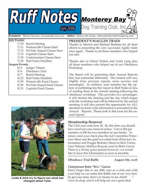 07 - Monterey Bay Dog Training Club
