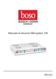 Manuale di istruzioni ABI-system 100