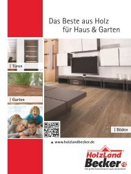 Das Beste aus Holz für Haus Garten - HolzLand Becker