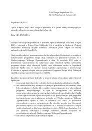 Raport bieżący nr 119/2013 - FAM Grupa Kapitałowa S.A.
