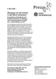 Einladung Stadt Gelsenkirchen (pdf) - Arbeiten + Lernen an Lippe + ...