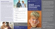 Strategic brochure, poster, banner cards.indd - WA Country Health ...