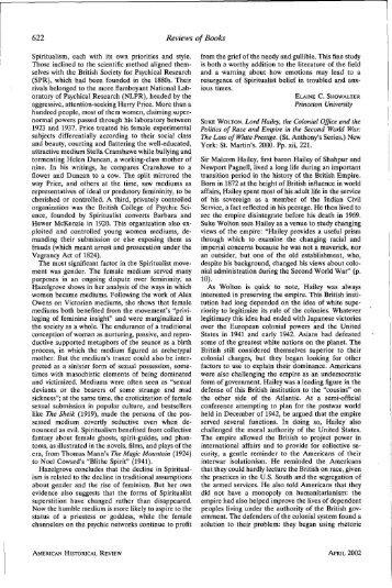 622 Reviews of Books - The Website of Nicholas Evan Sarantakes