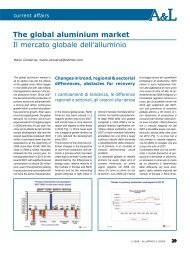 The global aluminium market Il mercato globale dell ... - Aluplanet
